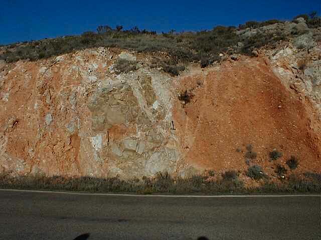 estructura de impacto de Azuara - Moyuela megabrecha