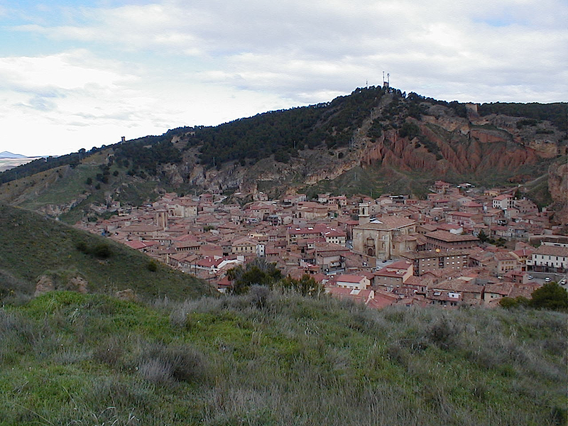 Daroca, provincia de Zaragoza, España