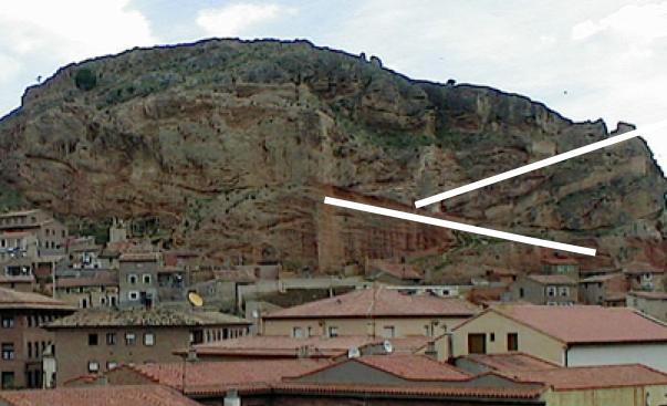 Cámbrico y Terciario en el cabalgamiento de Daroca, impacto de Azuara