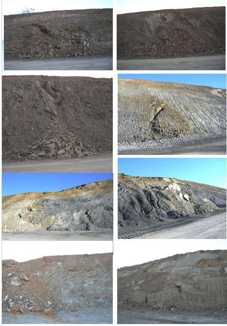Autovía Mudéjar. Afloramientos geológicos