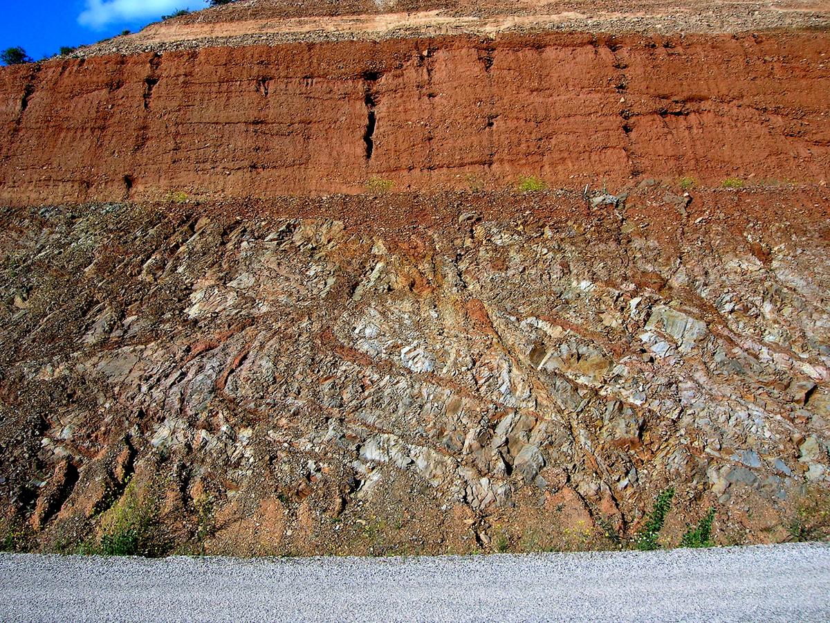 diques de brechas de impacto - Rubielos de la Cérida cuenca de impacto