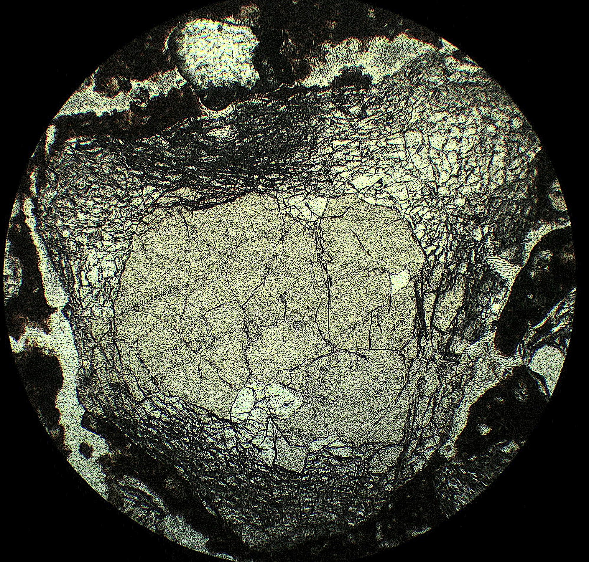 fracturas debidas al choque térmico en el cuarzo